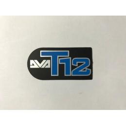 Etichetta adesiva LOGO DVA T12
